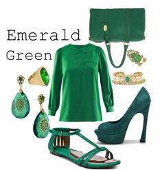 Mad For Fashion...For Less: Color Crash Course - Emerald green pairs well with black, silver, navy, & fuschia