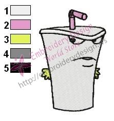 Master Shake Embroidery Design