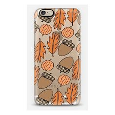 iPhone 6 Plus/6/5/5s/5c Case - Fall Scene (950 CZK) ❤ liked on Polyvore featuring accessories and tech accessories