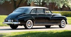 1947 Packard Clipper Custom Super Eight limousine