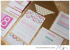 Wedding Invitations Designed by Sable & Snow