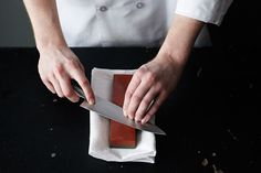 Why honing is so important and a fool-proof way to test your knife's sharpness.