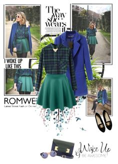 """""""Stylish Romwe skirt"""" by sofiia-s ❤ liked on Polyvore featuring Umbra, Pier 1 Imports, Chicnova Fashion, LE3NO, Sophie Hulme, ASOS, House of Harlow 1960 and MANGO"""
