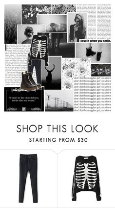 """""""Beautiful Halo #12"""" by nightlock ❤ liked on Polyvore featuring Retrò, Dr. Martens, women's clothing, women, female, woman, misses, juniors, fashionset and beautifulhalo"""