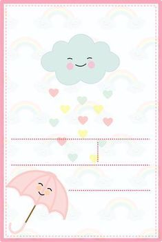 My Little Pony Birthday Party, Cute Birthday Cards, Baby Party, Girl Birthday, Cloud Party, Baby Frame, Baby Shawer, Party Decoration, Free Printables