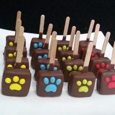 Paw patrol alfajores cubiertos con chocolate ! #alfajore #alfajorescubiertosdechocolate #chocolate # - almondgourmet