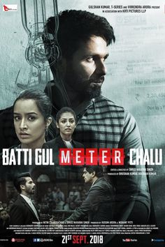 Actor Shahid Kapoor's upcoming comedy-drama Batti Gul Meter Chalu, which was slated to release on August will now hit the big screens on September Popular Movies, Latest Movies, New Movies, Streaming Vf, Streaming Movies, Galveston, Hd Movies Download, Movie Downloads, Free Download