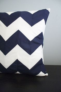 chevron pillow perfect for my front porch furniture.