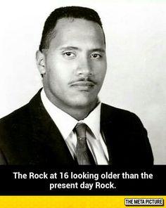The Rock At 16