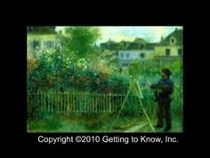 """American Library Association 2002 NOTABLE CHILDREN'S VIDEO Award-winner.     Claude Monet and his French Impressionists """"pals"""" are brought to life in this entertaining, animated video. Now kids can have fun learning about Monet's life and paintings through a playful combination of great art and delightful, off-the-wall cartoons.     CC,PPR,* App..."""