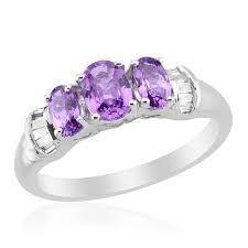 purple diamond rings - Google Search