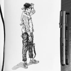 17.08.06-17.08.13 drawing on Behance