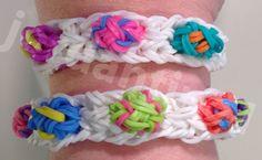 New Easter Egg Bracelet - Spring Holiday - Rainbow Loom