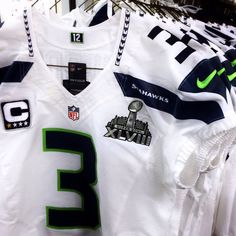 Superbowl jerseys