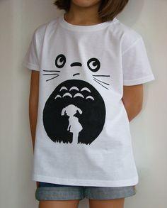 Mona Gerarda - Experimentando... Tutorial de camiseta con dibujo de Totoro