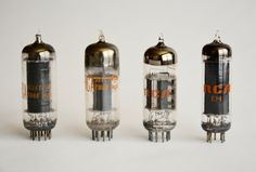 10 RCA Electronic Vacuum Tubes Vintage Vacuum Tube RCA