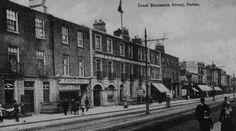 Ireland's first fish and chip shop – opened by Giuseppe Cervi in Great Brunswick Street Dublin Street, Dublin City, Old Pictures, Old Photos, Brunswick Street, Dublin Castle, Photo Engraving, Ireland Homes, Irish Celtic
