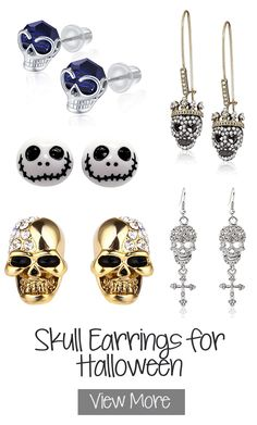 Crystal Eye Skull Stud Earrings. Fun outfit ideas for Halloween. Low price outfits for Halloween. Skeleton outfits for Halloween. Halloween party ideas. Jewellery for Halloween. Halloween outfits for the office. #halloween #skeletons #skulls #skulljewellery #giftideas #affiliatelink #officeparty #party Halloween Party Costumes, Halloween Skeletons, Halloween Halloween, Halloween Outfits, Winter Horse, Skull Earrings, Halloween Jewelry, Winter Fashion Outfits, Friend Wedding