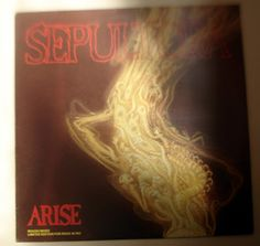 Verita's Sound And Vision: LP Sepultura Arise Rough Mixes Limited Edition For...