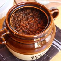 Boston Bacon Baked Beans Recipe Bohnen These Traditional Boston Baked. Boston Bacon Baked Beans Recipe Bohnen These Traditional Boston Baked Beans Spread Happi Baked Beans With Bacon, Homemade Baked Beans, Baked Bean Recipes, Veggie Recipes, Dinner Recipes, Cooking Recipes, Beans Recipes, Baked Beans Crock Pot, Soup Recipes