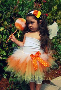 Couture Candy Corn Fairy Tutu $45.00