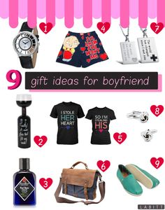 whats a good present to get your boyfriend