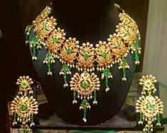 Rajputi jewellery beautiful necklace set by kuldeep singh