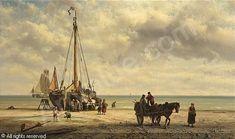 Dutch Painters, Landscape Paintings, Landscapes, Sailing Ships, Amsterdam, Concept Art, Art Drawings, Bring It On, Illustration