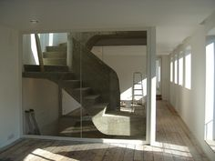 Stair | Powis Mews Designed by Sophie Hicks Architects