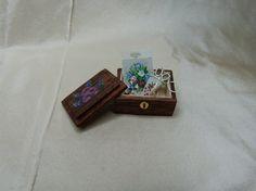 Hand Painted Sewing Box, By LatchkeyAndJonquil♡♡
