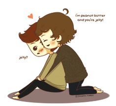 i'm peanut butter and you're jelly!    larry stylinson