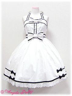 Angelic Pretty / Jumper Skirt / School Girl Halterneck JSK