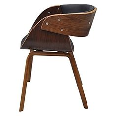4 x Esszimmer Stuhl Stühle Sessel Esszimmerstühle Holzrahmen braun