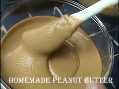 Cooking From Scratch:  Homemade Peanut Butter
