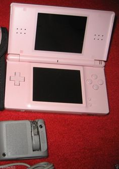 Nintendo DS Lite Pink Gaming Console (NTSC) plays DS & Game Boy Advance GBA NDS #Nintendo