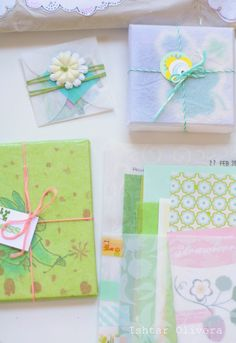DIY spring paper inspiration / From BohèmeCircus to Ishtar Olivera