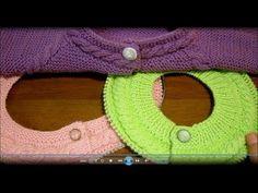 Поперечные планки в начале и в конце вязания. Спицами. Часть 1. - YouTube Knitting Videos, Knitting Stitches, Baby Knitting, Crochet Baby, Knitting Patterns, Knooking, Cardigan Design, Sliding Knot, Paracord Bracelets