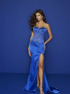 evening dresses evening dresses long evening dresses long 2014 strapless sweetheart neckline with beaded bodice and mermaid slit skirt in sweep train designs night dress m72