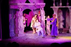 A Funny Thing Happened on the Way to the Forum. Photo 1 of 3. Directed and Set Design by Jim Weisman, Light Design by Kerry Goff. Fredericksburg Theater Company.