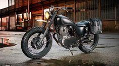Modified new Yamaha 400 -- man, gorgeee-ous!