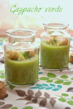 Fairies'kitchen: Gazpacho verde con scorze di piselli: #cominciolunedì e la cucina degli avanzi