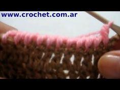Punto Cangrejo en crochet
