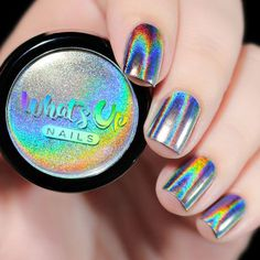 Whats Up Nails - Holographic Powder