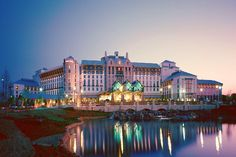 Gaylord Texan Resort, Grapevine, TX--looks like a castle and nearly has a town inside itself.^