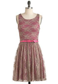 Belt the High Note Dress, #ModCloth --- Okay so I guess I'm okay with fall colors if they look like this.