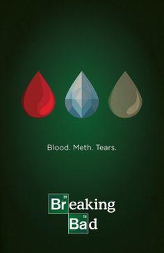 Blood. Meth. Tears. FeLiNa. breaking bad.