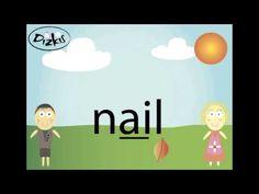 ai words - Phonics - paint, snail, entertainment - YouTube