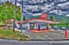 #GILOVEBC - Nelson BC Dairy Queen - the seasonality and limited slecetion from this mainstream ice cream stand makes it a real treat