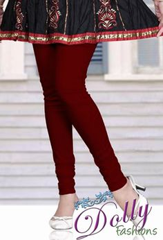 Soft 4-way Lycra Stretchable Legging in Maroon love this color :)
