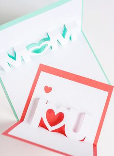 Homemade cards for mum mean so much more. We love this pop-up card for a great Mother's Day gift